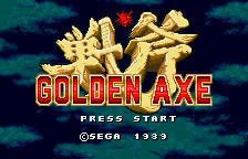 Golden Axe [Model SWJ-BANC2B] screenshot