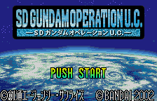 SD Gundam - Operation U.C. [Model SWj-BANC21] screenshot