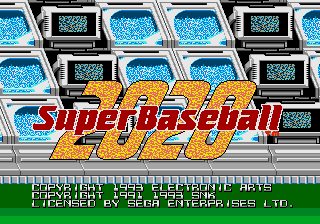 2020 Super Baseball [Model 7158] screenshot