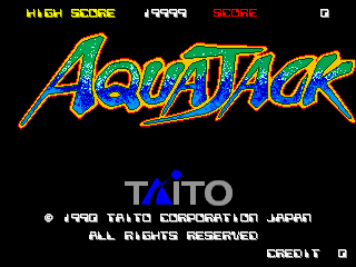Aqua Jack screenshot