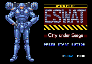 ESWAT - City Under Siege screenshot