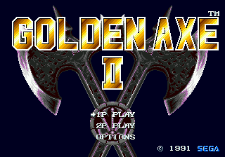Golden Axe II [Model 1122-50] screenshot