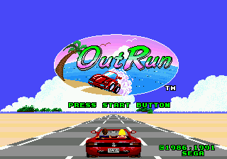 Out Run [Model 1125-50] screenshot