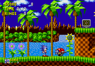 Sonic the Hedgehog [Model 1009-50] screenshot