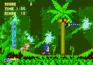 Sonic 3 [Model 1079-50] screenshot