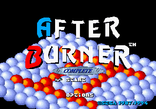 After Burner Complete [Model 84507-50] screenshot