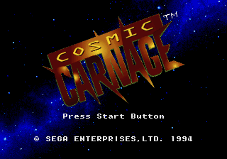 Cosmic Carnage [Model 84700] screenshot