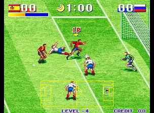 dejamos los combates y pasamos a un juego de futbol goal goal goal