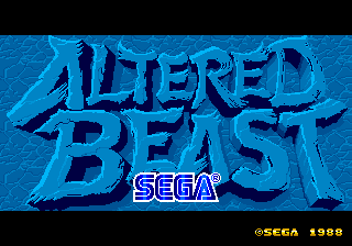 Altered Beast [Model 317-0069] screenshot