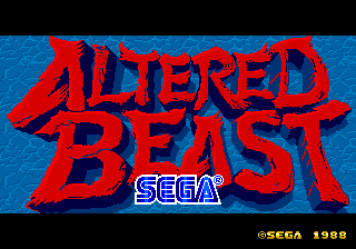 Altered Beast [Model 317-0078] screenshot