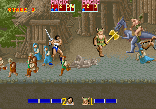 Golden Axe [Model 317-0110] screenshot