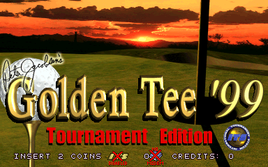 Golden Tee '99 Tournament Edition screenshot