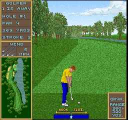Golden Tee Golf screenshot