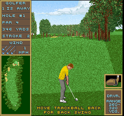 Golden Tee Golf II screenshot