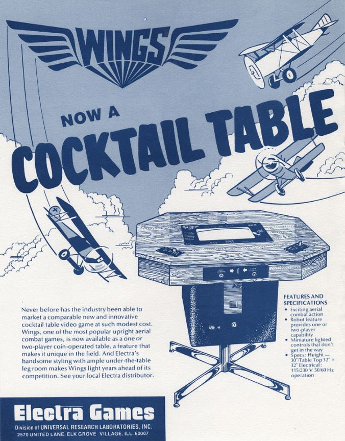 Goodies for Wings [Cocktail Table model]