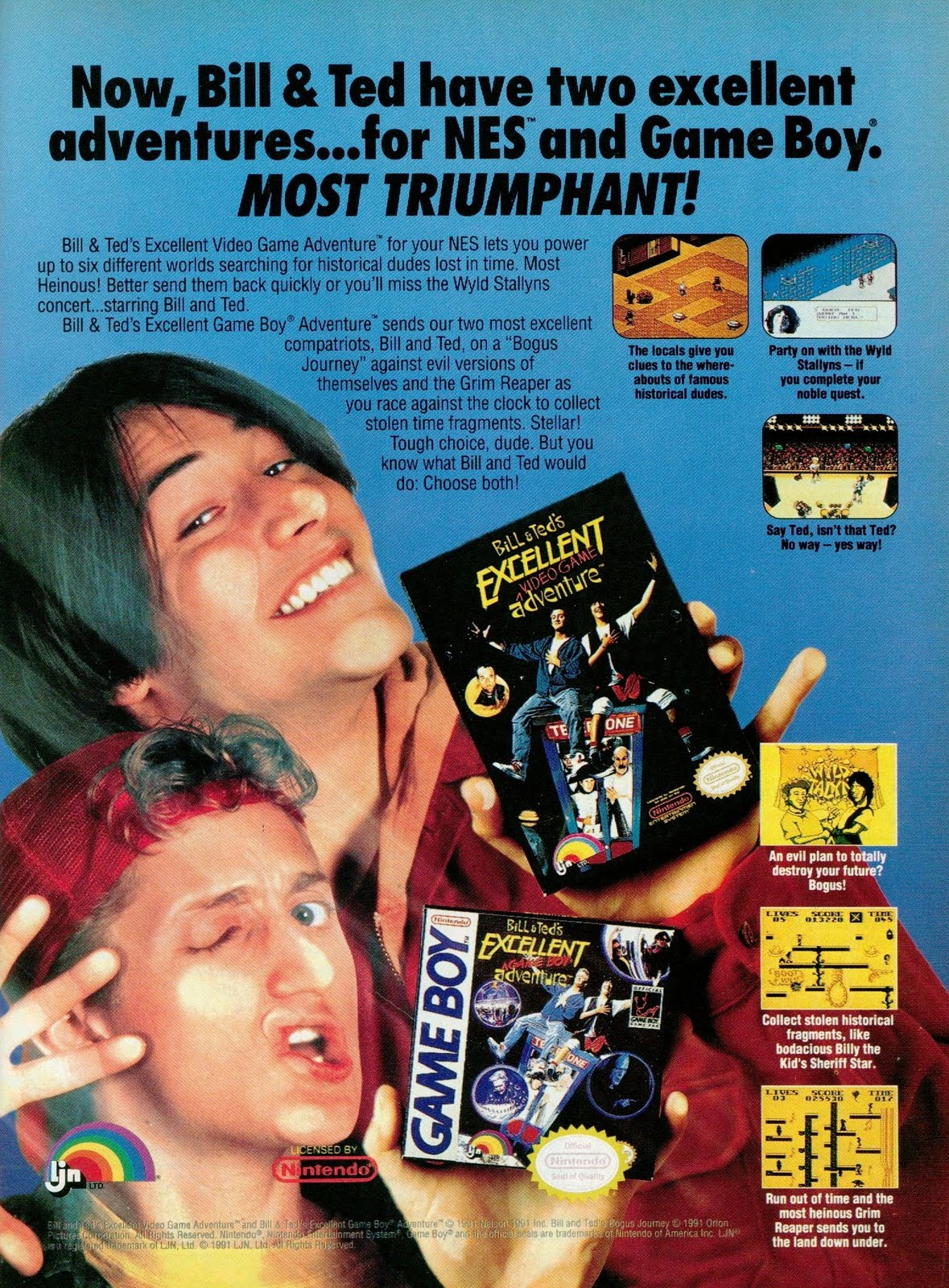 Goodies for Bill & Ted