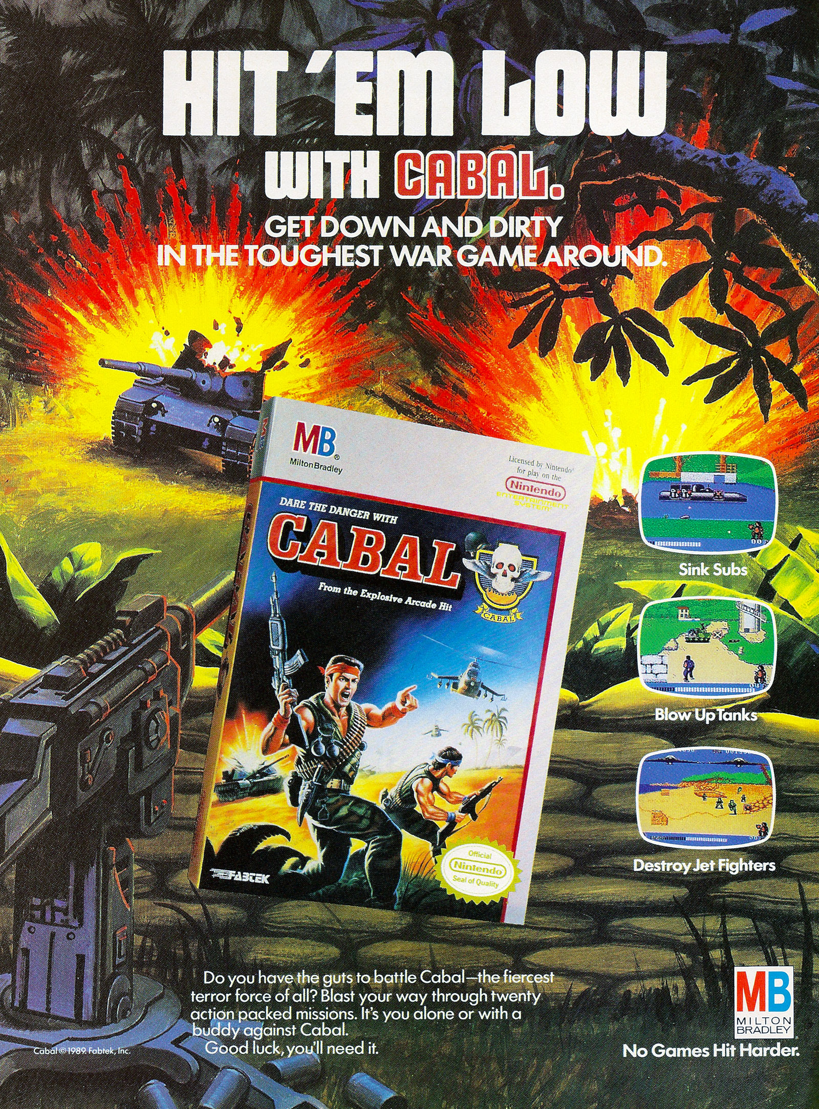 Goodies for Cabal [Model NES-C7-USA]